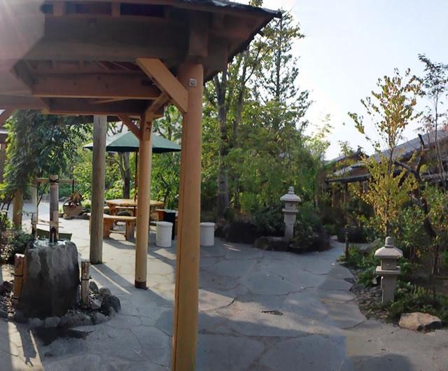 地域最大規模の風情ある温泉施設